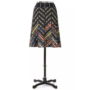 Anthropologie Skirts - ANTHROPOLOGIE FLOREAT STUDIO SPACE STRIPED SKIRT 4
